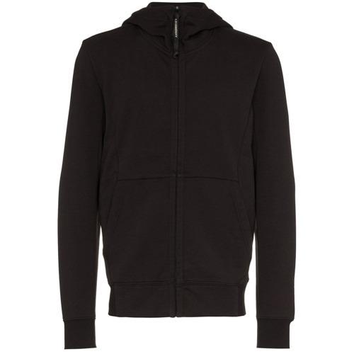CP Company Black Long Sleeve Zip Hoodie