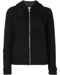 Valentino Butterfly Embroidered Hoodie