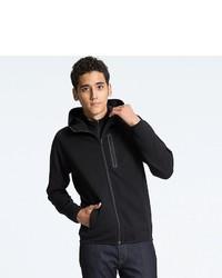 Uniqlo Dry Stretch Long Sleeve Sweat Full Zip Hoodie