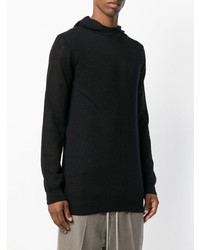 Rick Owens Geo Hooded Jumper