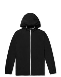 Theory Hector Nylon Blend Shell Hooded Jacket