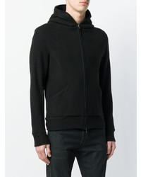 Attachment Hooded Zipped Jacket