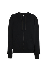 Valentino Logo Patch Hooded Jacket