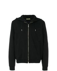 Versace Jeans Logo Patterned Hooded Jacket