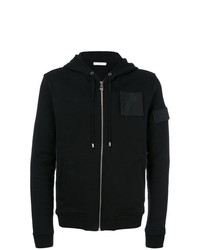 Versace Collection Medusa Patch Zipped Hoodie