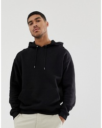 ASOS DESIGN Oversized Hoodie In Black
