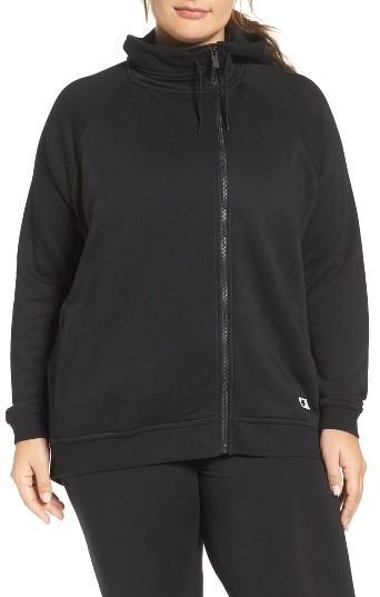 ed2e768379b ... Nike Plus Size Terry Cape Hoodie ...