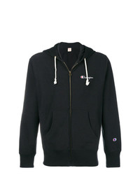 Champion Zipped Logo Hoodie
