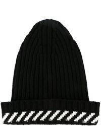 Off-White Diagonal Stripe Beanie