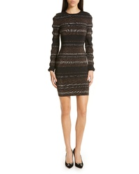 992d9d30498e5e Ted Baker London Simona Metallic Stripe Body Con Dress