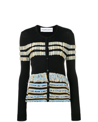 Carven Textured Knit Cardigan
