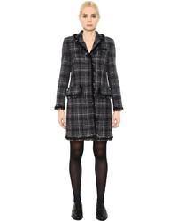 Black Horizontal Striped Coat