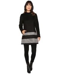 Lauren Ralph Lauren Buckle Front Stripe Coat