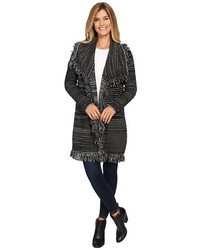 NYDJ Outerwear Fringed Car Coat