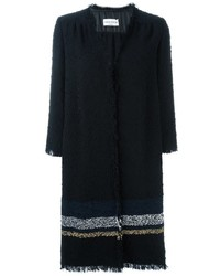 Sonia Rykiel Striped Detail Coat