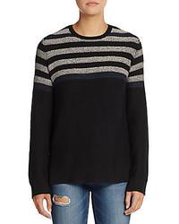 BCBGMAXAZRIA Striped Knit Sweater