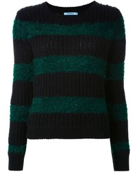 Guild prime striped sweater medium 410201