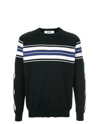 MSGM X Diadora Stripe Detail Sweater