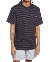 Dickies Clean Utility Core Stripe Pocket T Shirt