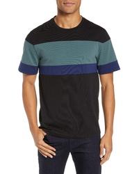 Vince Colorblock Crewneck T Shirt
