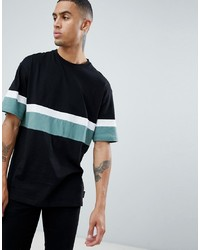 D-struct Cut And Sew Peached T Shirt