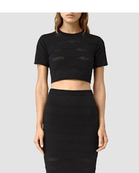 AllSaints Casto Cropped Top