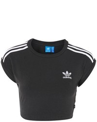 adidas Originals 3 Stripe Crop Top