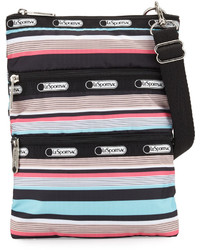 Le Sport Sac Lesportsac Kasey Striped Crossbody Bag Tennis Stripe