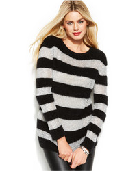 MICHAEL Michael Kors Michl Michl Kors Metallic Stripe Angora Blend Sweater