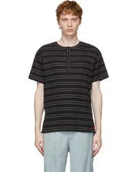 Stolen Girlfriends Club Grey Tetris Henley T Shirt