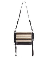 Isabel Marant Asli Wool Leather Shoulder Bag