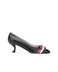 Thom Browne Sculpted Kitten Heel Pumps
