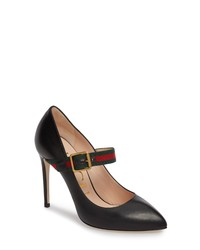 Gucci Sylvie Mary Jane Pump