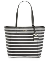 Kate Spade New York Hyde Lane Small Riley Faux Leather Tote Black