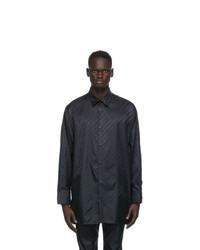 Givenchy Black Chain Oversize Shirt