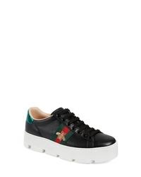 Gucci New Ace Platform Sneaker