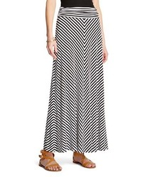 Merona Striped Maxi Skirt Tm