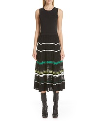 Proenza Schouler Stripe Knit Dress