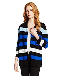 Jones New York Stripe Cardigan