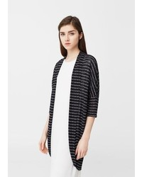 Striped design cardigan medium 5025636