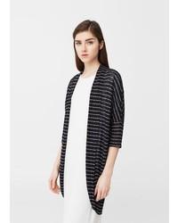 Mango Striped Design Cardigan