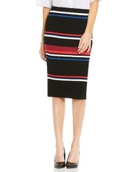 Vince Camuto Stripe Pencil Skirt