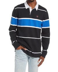 Vans 66 Champ Long Sleeve Rugby Stripe Polo