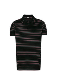 Saint Laurent Striped Polo Shirt