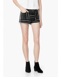 Mango Outlet Jacquard Shorts
