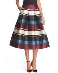 Ted Baker London Majida Antique Stripe Full Pleat Skirt
