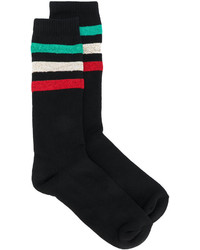 Metallic striped socks medium 4914618