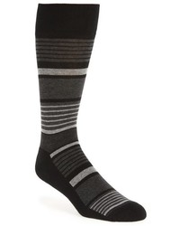 Nordstrom Stripe Cotton Blend Socks