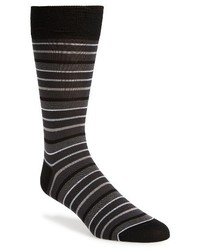 Bugatchi Pop Stripe Mercerized Cotton Socks
