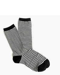 J.Crew Trouser Socks In Classic Stripe